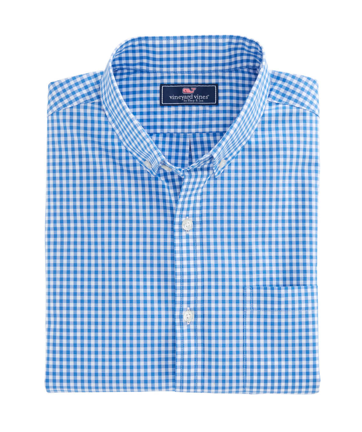 Description of Blue Gingham for screen readers