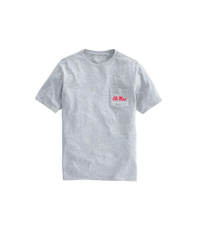 Adult Ole Miss Helmet T-Shirt