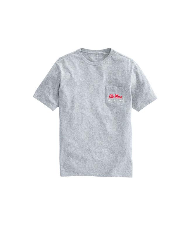 Ole Miss Helmet Adult T-Shirt