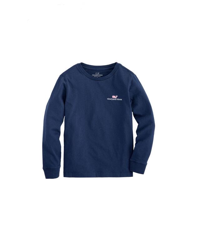f211acff Kids Long-Sleeve VV Logo Graphic T-Shirt