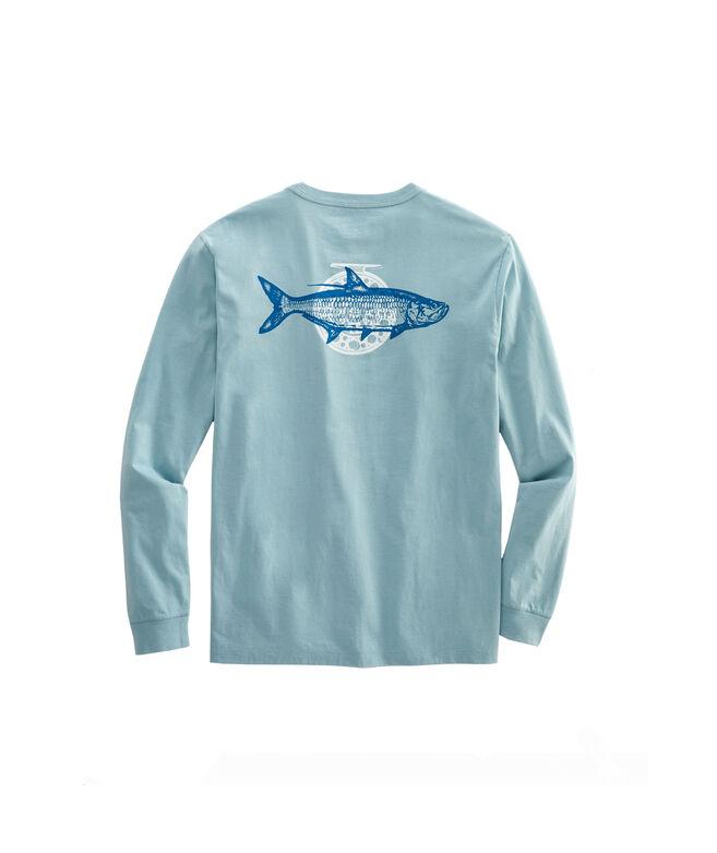 Tarpon Fly Long-Sleeve Pocket T-Shirt