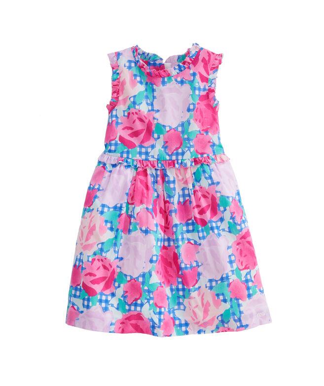 Girls Run For The Roses Dress