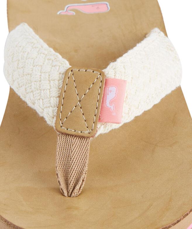 96db254557f1 Womens Braided Flip Flops