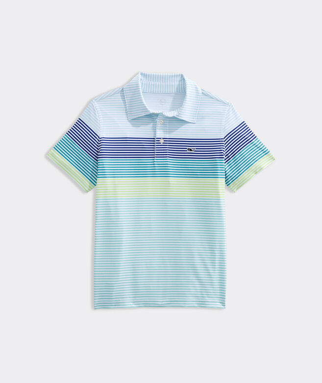 Boys' Maya Stripe Sankaty Polo