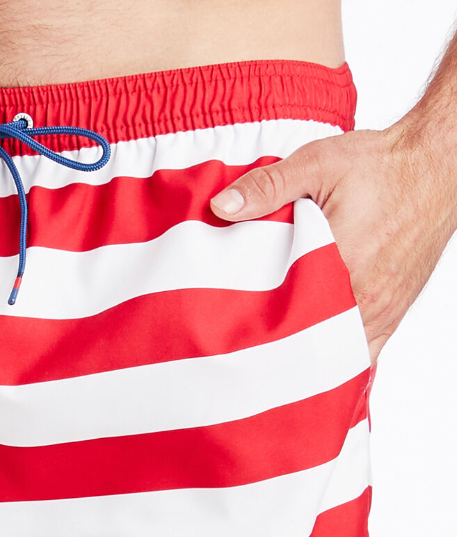 USA Flag Chappy Trunks
