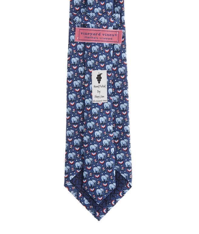Elephants Printed Tie