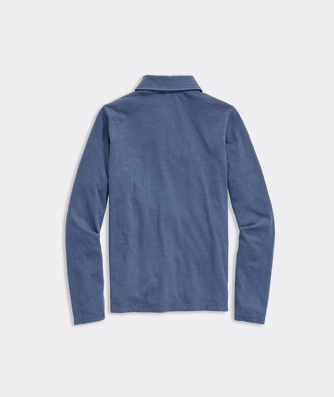 Boys' Sun-Washed Long-Sleeve Polo