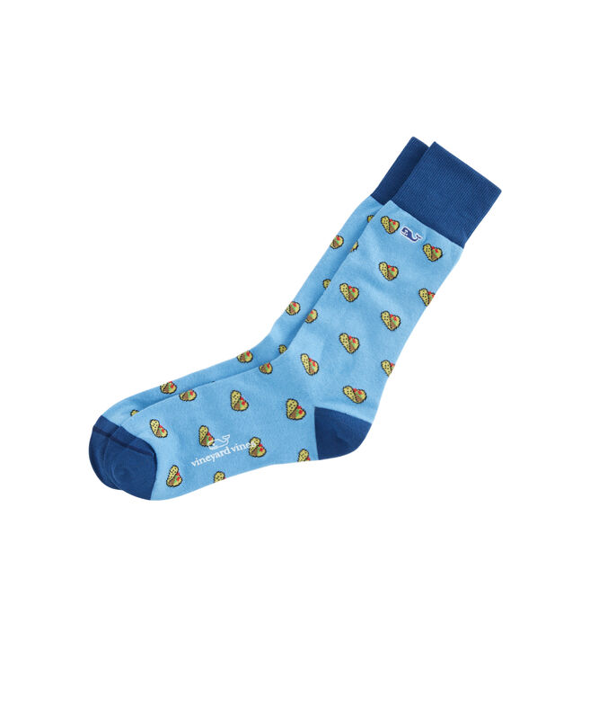 Taco Icon Socks