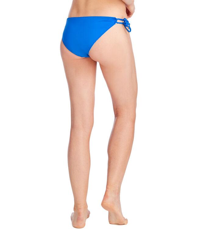 Patchwork Whales Reversible Bikini Bottom