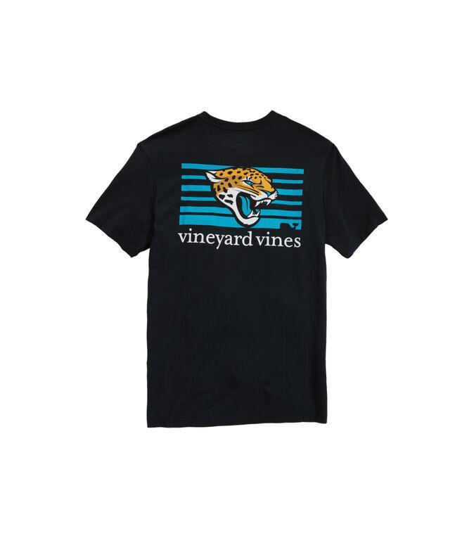 Jacksonville Jaguars Block Stripe Tee