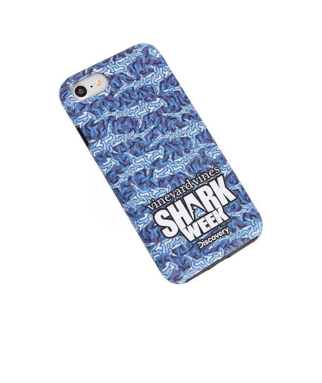 Shark Week Camo iPhone 7+/8+ Case