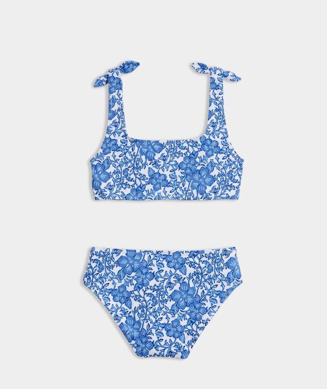 Girls' Tie Bikini Set