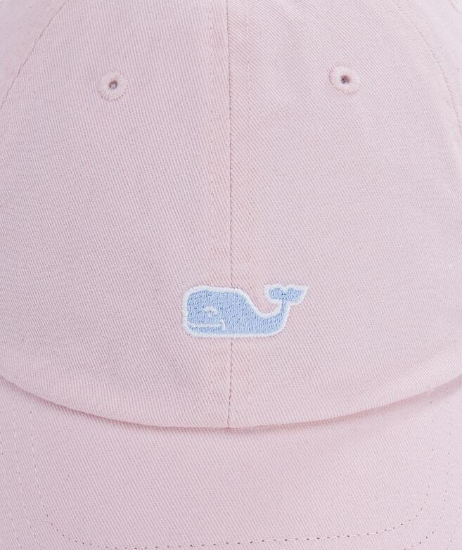 22c59af0ada Garment Dyed Logo Leather Strap Baseball Hat at vineyard vines