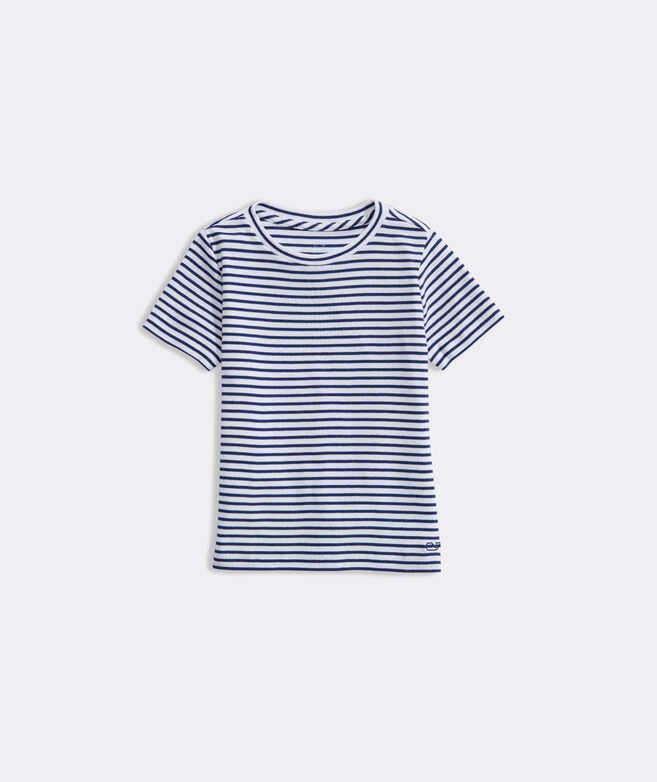 Girls' Simple Crewneck Tee