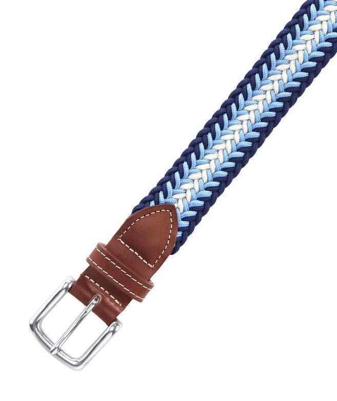 Striped Bungee Cord Belt