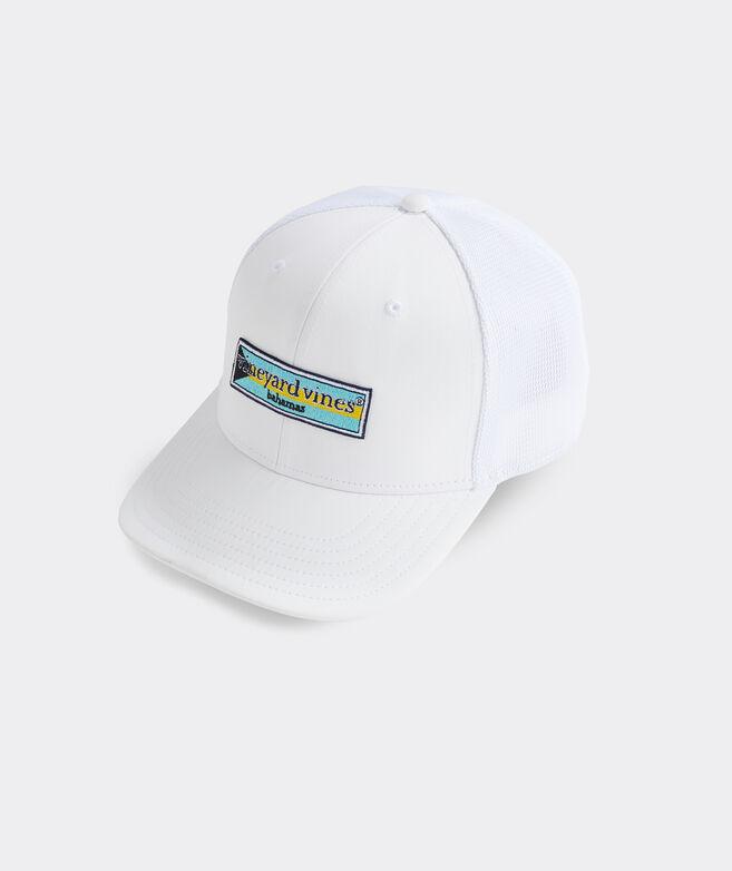Bahamas Logo Box Performance Trucker Hat