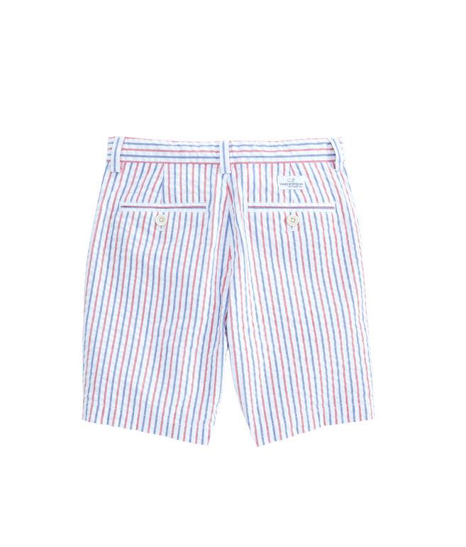 Boys Firework Stripe Breaker Shorts