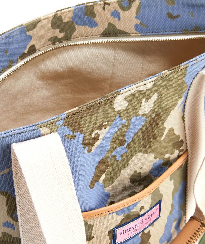 Camo Canvas Tote Bag