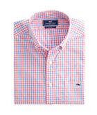 Albert Lake Gingham Slim Tucker Shirt
