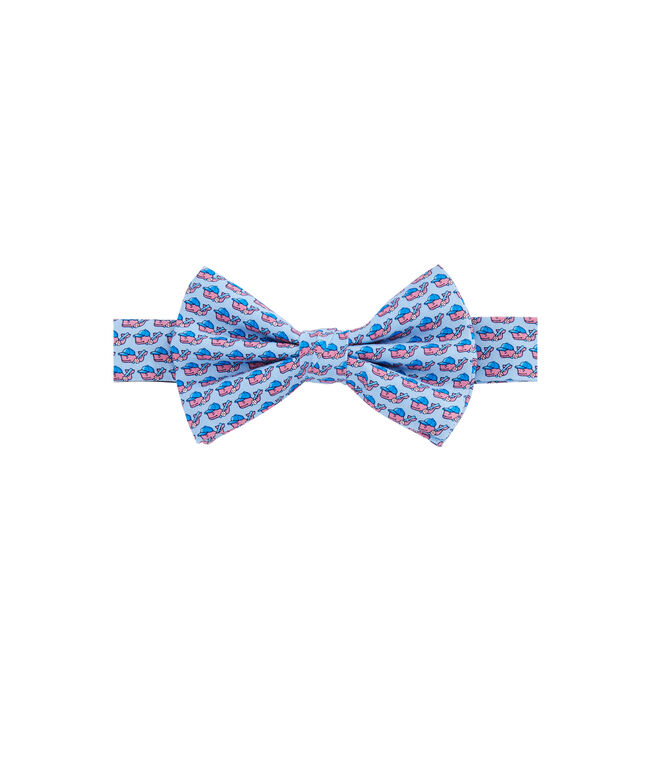 Boys Baseball Character Whale Bow Tie