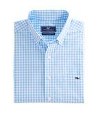 South Sound Gingham Slim Tucker Shirt