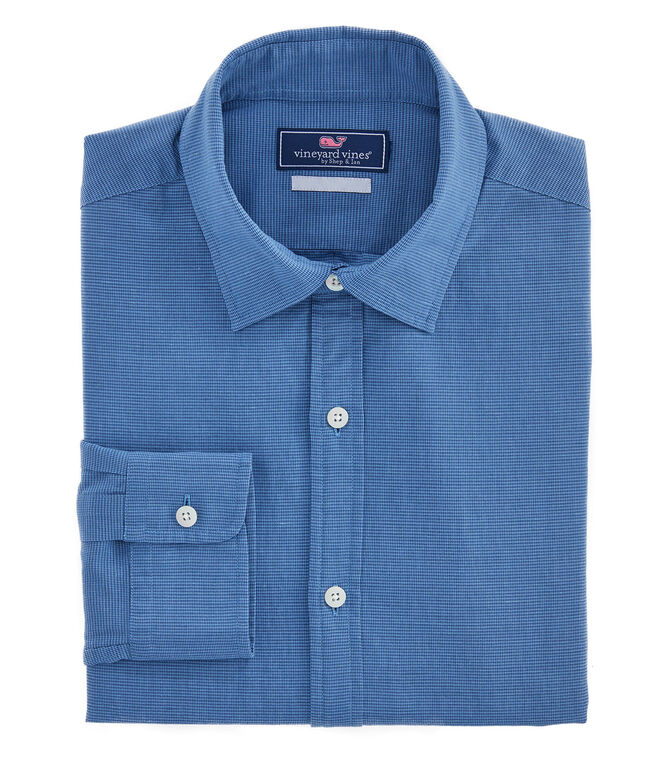 Slim Fit Worth Avenue Cooper Button-Down Shirt
