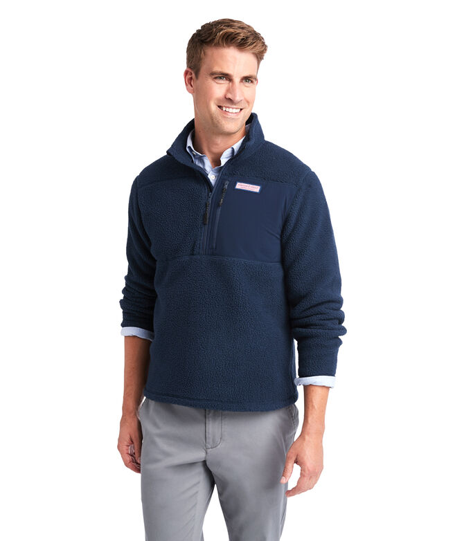 Stillwater Chest Pocket Sherpa 1/2-Zip Pullover