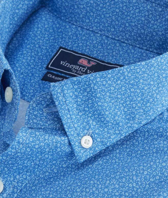 Short-Sleeve Oyster Bay Slim Tucker Shirt