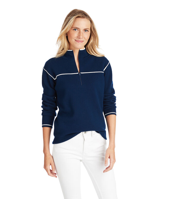 Merino 1/4 Zip Sweater