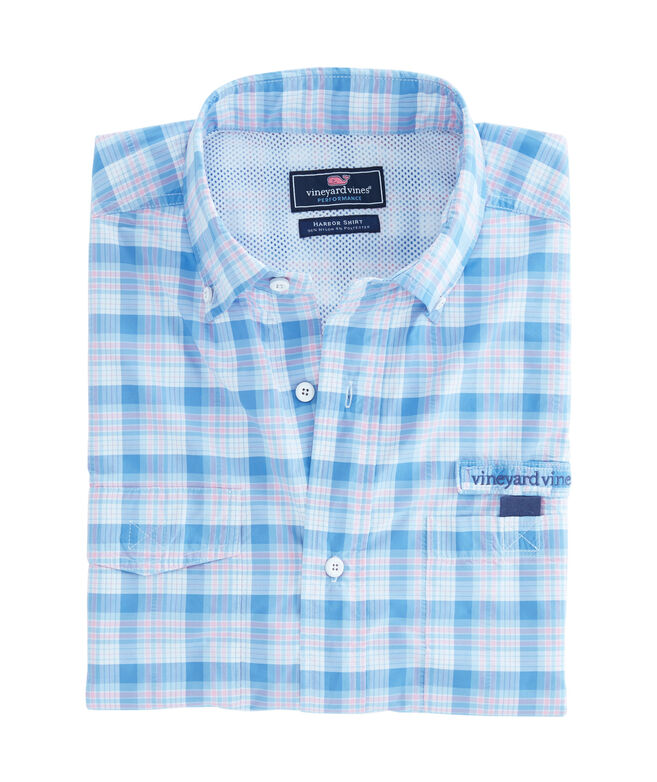 Outhaul Plaid Harbor Shirt