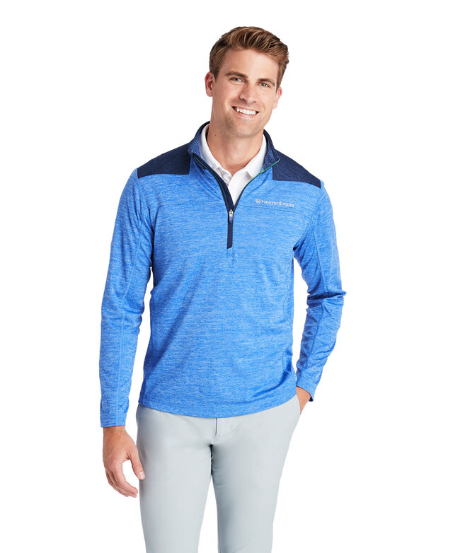 Shep Shoulder Sankaty 1/2 Zip