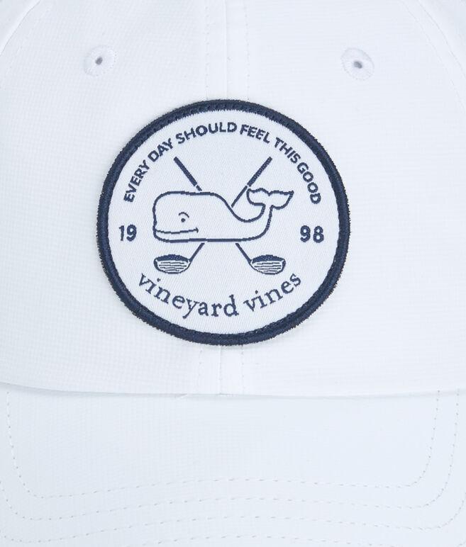 vineyard vines Golf Patch Performance Baseball Hat
