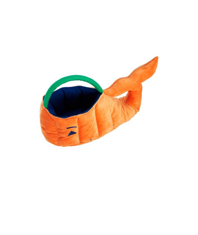 Plush Whale Pumpkin Basket