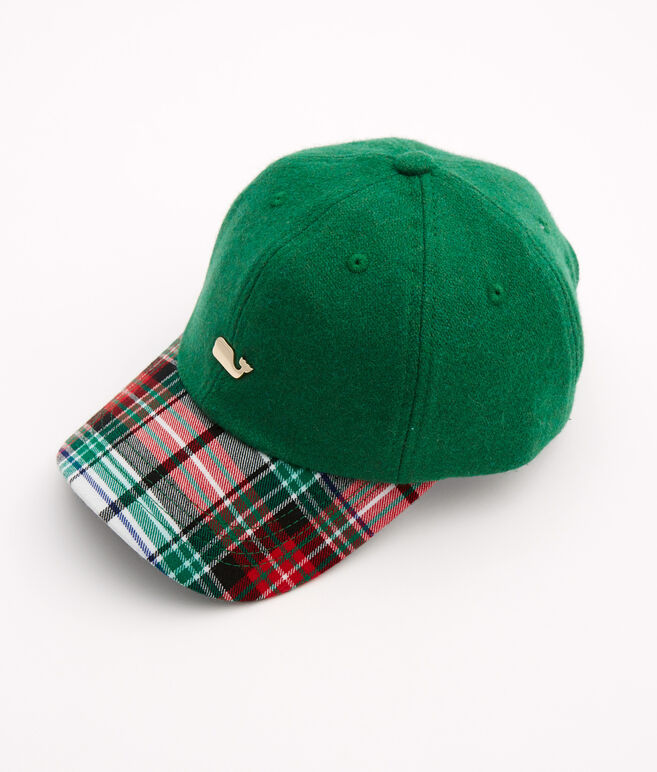 Winter Tartan Baseball Hat