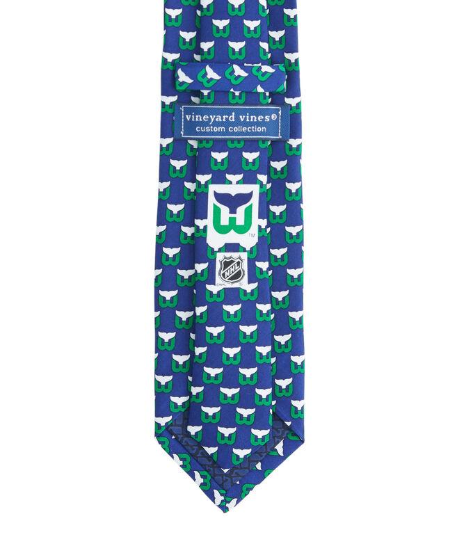 Hartford Whalers Logo Tie