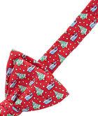 Santa Whale & Tree Bow Tie