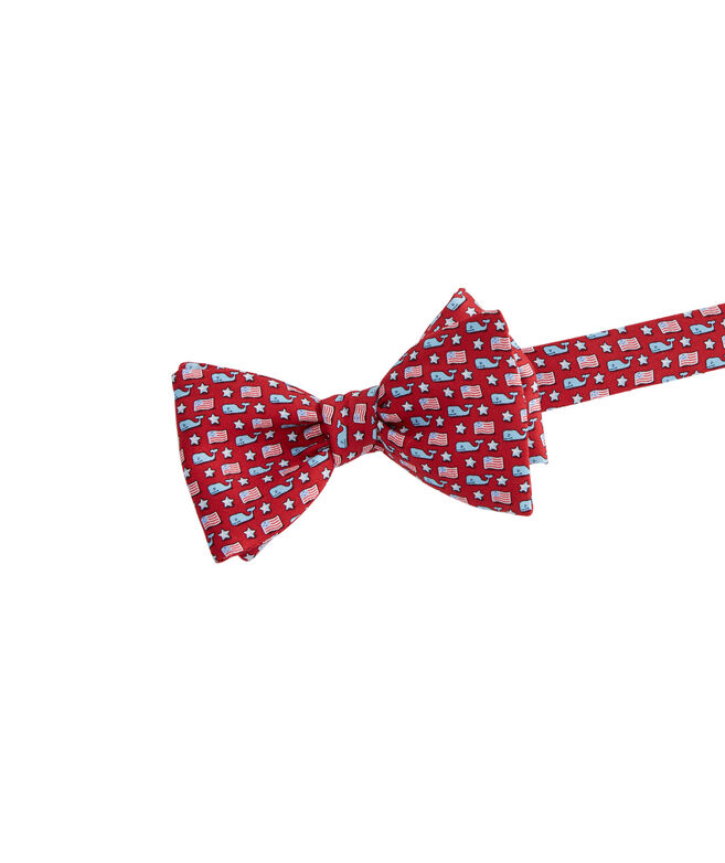 Whale & Flag Bow Tie