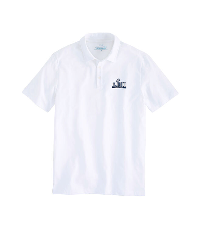Super Bowl LIII Solid Edgartown Polo