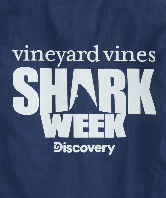 Shark Week 2019 Discovery Logo Pocket T-Shirt