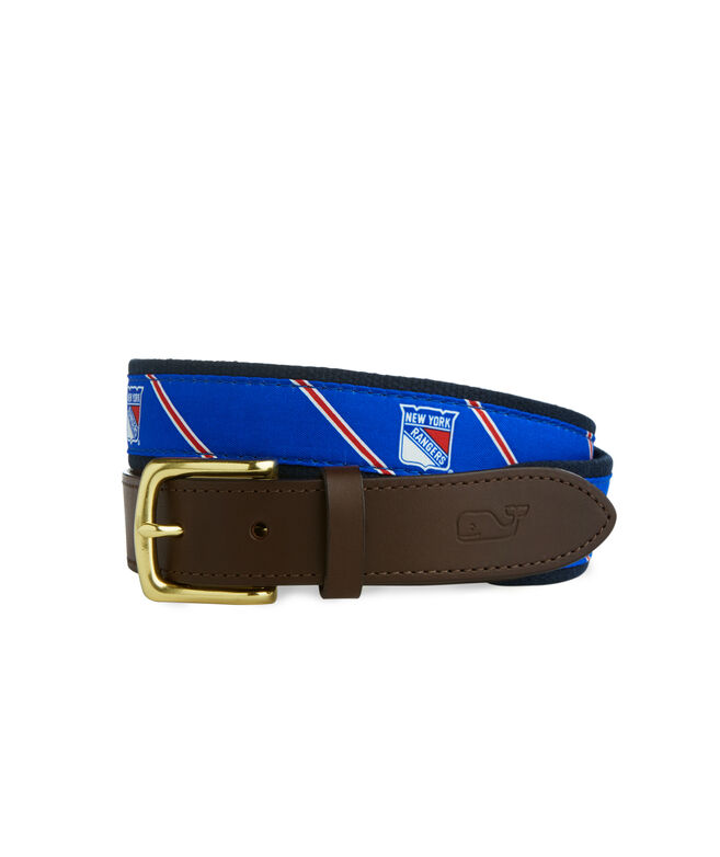 New York Rangers Boys Belt