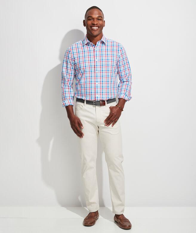 Classic Fit Orange Grove Cooper Button-Down Shirt