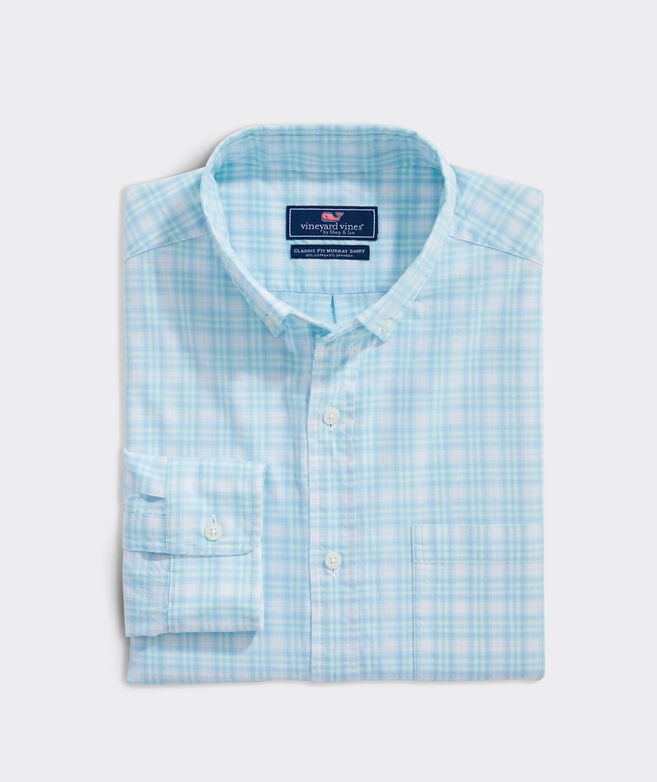 Classic Fit Castaway Island Madras Murray Button-Down Shirt
