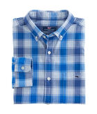 Speckled Sea Check Classic Tucker Shirt
