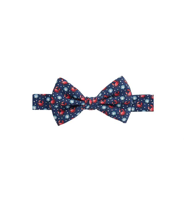 Boys Crab & Scallop Shells Bow Tie
