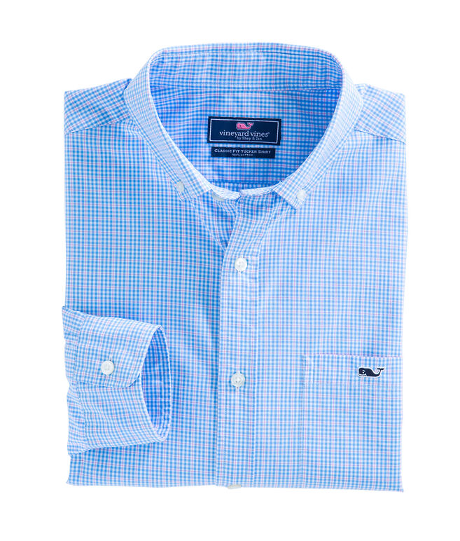 Stowaway Plaid Classic Tucker Shirt