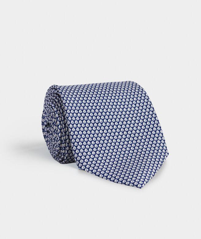 Micro Sail Geo Printed Tie