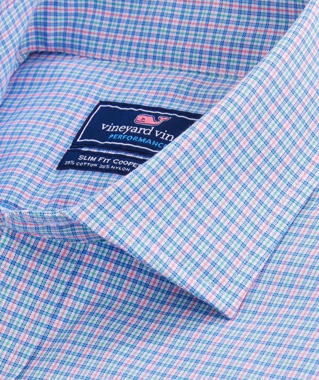Slim Fit Wasatch Performance Cotton Spread Collar Cooper Shirt