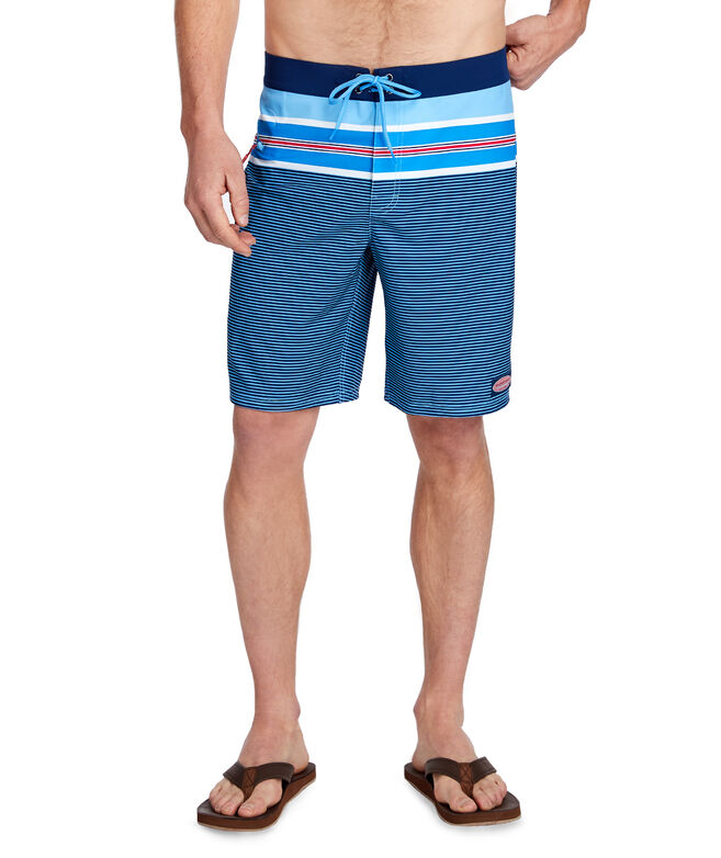 Birchcliff Stripe Board Shorts