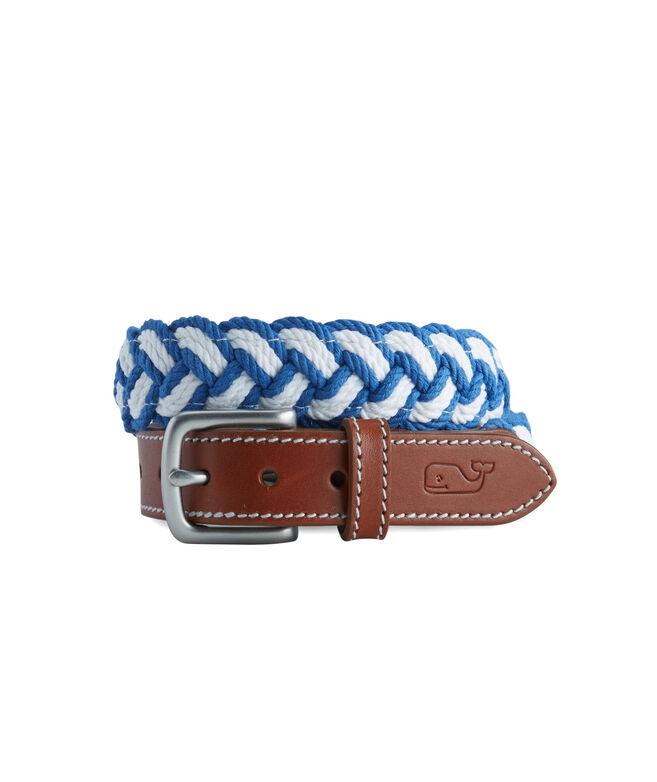 Boys Braided Rope Belt