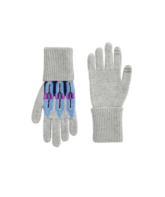 Pop Fair Isle Gloves